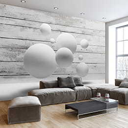 Balls wallpaper mural large 3d wallpaper murals free for Apparence decoration