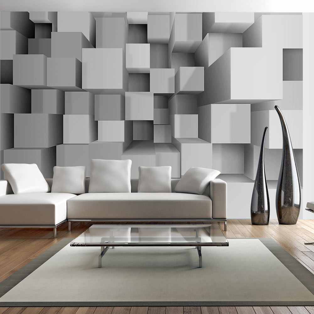 Wallpaper Geometric Puzzle 3d Wallpaper Murals Uk