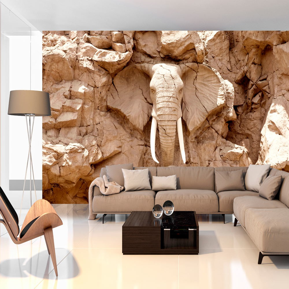 Wallpaper Stone Elephant South Africa 3d Wallpaper Murals Uk