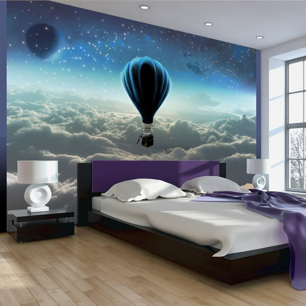 wallpaper night expedition 3d wallpaper murals uk. Black Bedroom Furniture Sets. Home Design Ideas