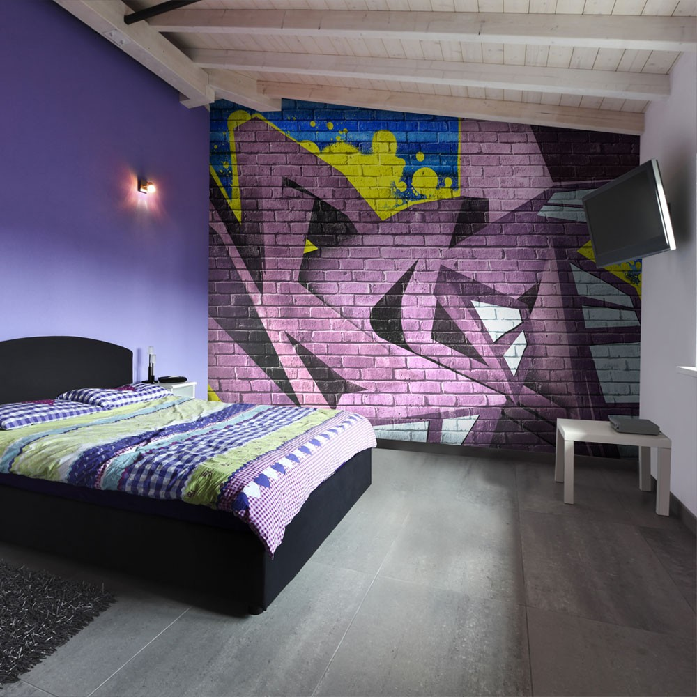 Wallpaper street art graffiti 3d wallpaper murals uk for Art mural wallpaper uk