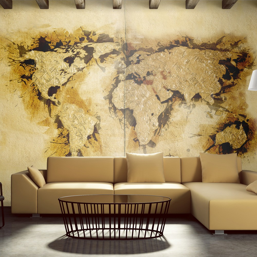 Wallpaper - Gold-diggers' map of the ...