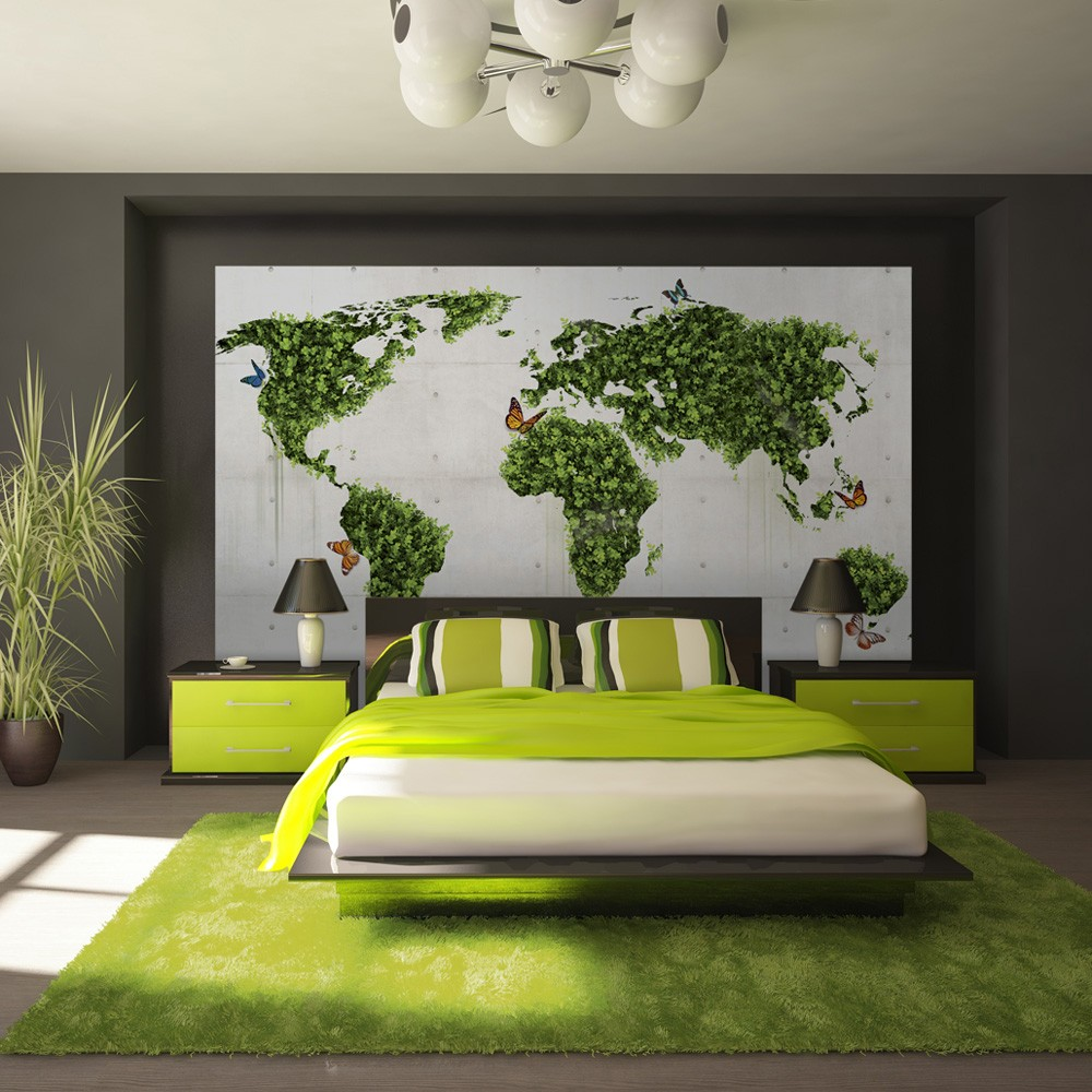 Wallpaper the butterfly garden 3d wallpaper murals uk for Butterfly mural wallpaper