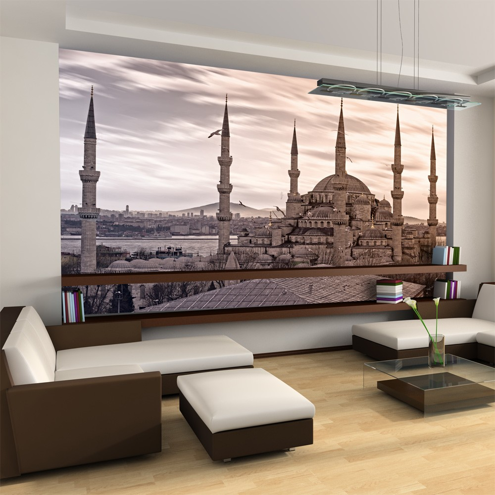 Wallpaper Blue Mosque Istanbul 3d Wallpaper Murals Uk